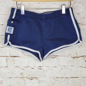 Victoria Secret PINK Navy Track Shorts XS EUC